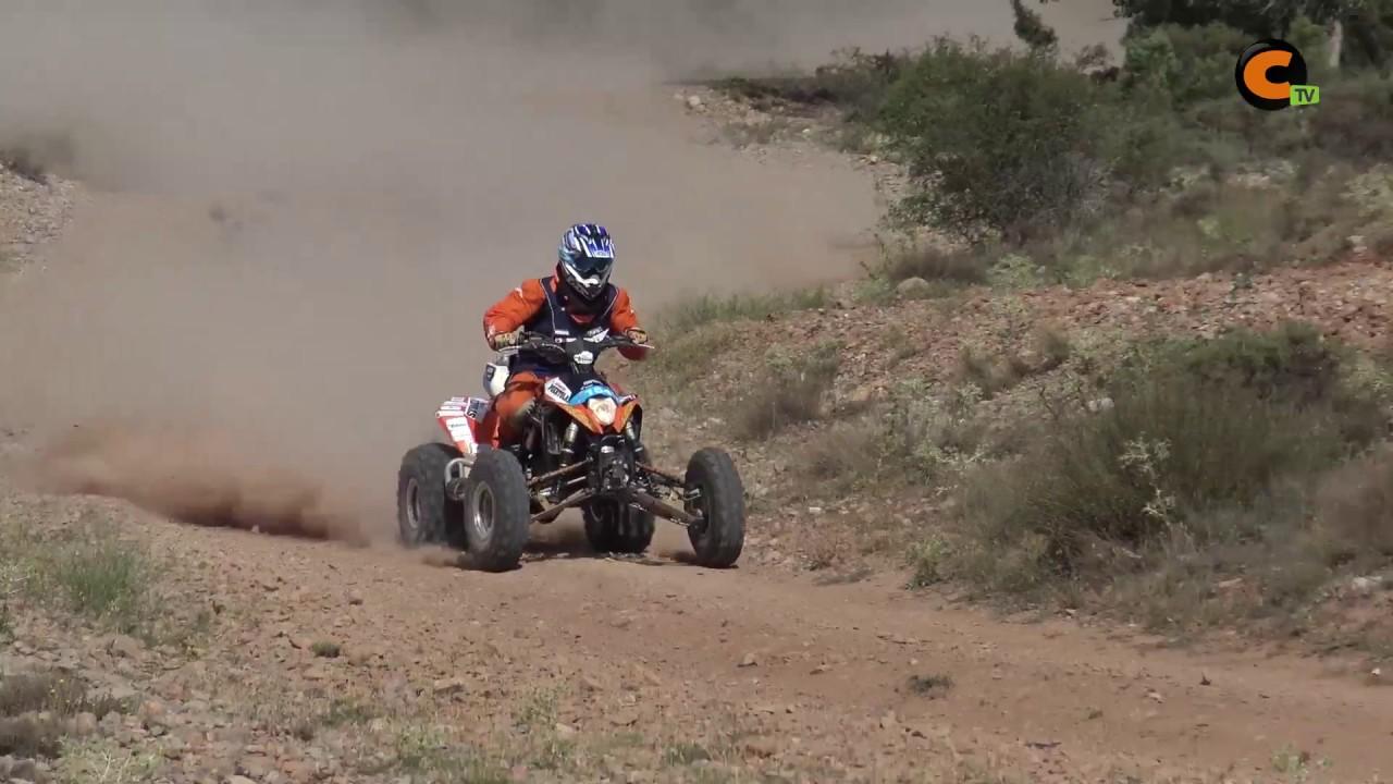 Sergio Marco, tercero en quads en la Baja Aragón - YouTube