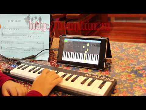 Bé học piano với bàn phím Keystation Mini 32 cùng phần mềm Synthesia - 동영상