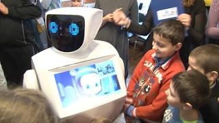 Первый в Беларуси робот-аниматор