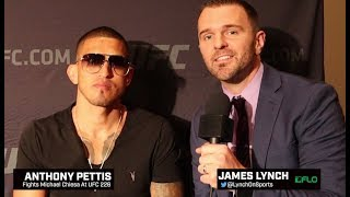 Anthony Pettis Believes His Striking Will Be Too Much For Michael Chiesa at UFC 226
