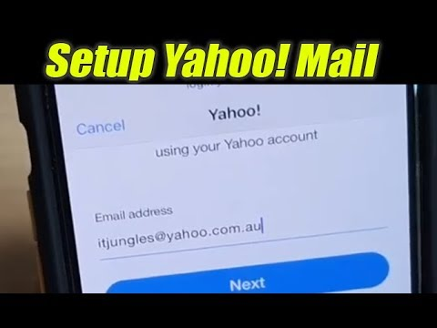 How To Setup Yahoo! Mail To IPhone Mail On IOS 13