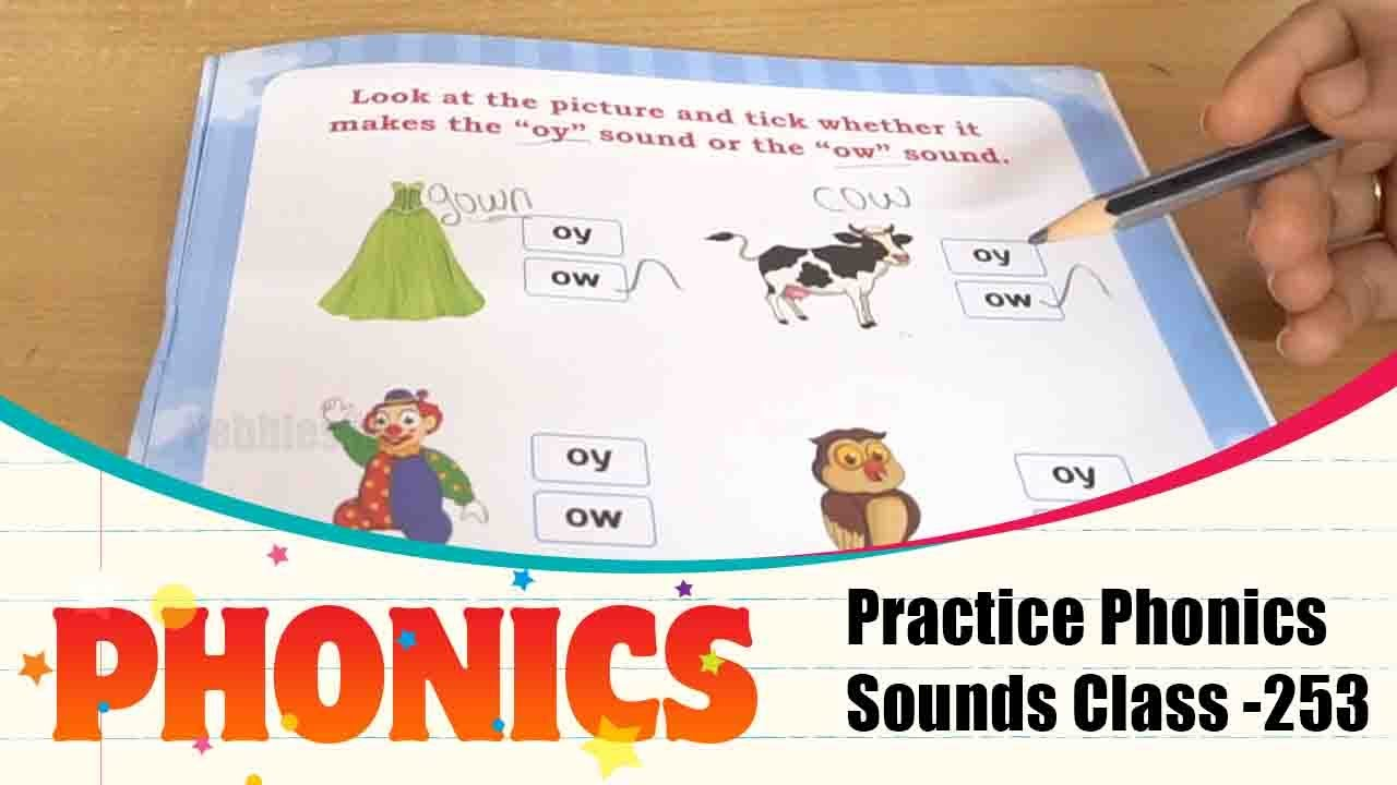 Phonics Sounds Of Activity Part - 235 | Learn and Practice Phonic Sounds/English Phonics Class -253