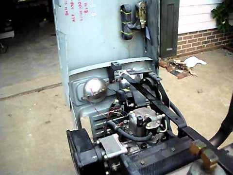 yanmar supercharged diesel with a smog pump