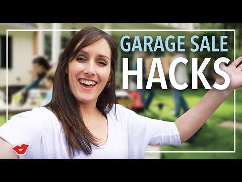 How To Plan A Garage Sale!  Kristen from Millennial Moms