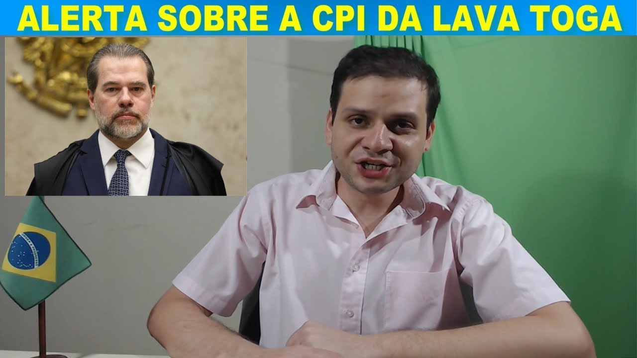 Um ALERTA sobre a CPI da lava Toga / CCJ, Reforma e Bolsonaro