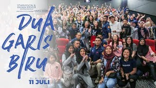 Video DUA GARIS BIRU - Premier di Malang Ramee! download MP3, 3GP, MP4, WEBM, AVI, FLV Agustus 2019