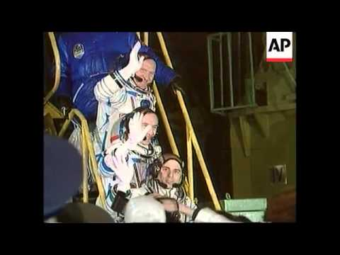 Veteran 3-Man Crew Launches to International Space Station