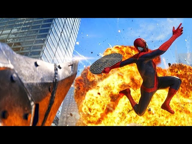 Spider-Man vs Rhino - Final Fight Scene - The Amazing Spider-Man 2 (2014) Movie CLIP HD
