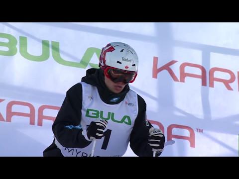 The Evolution of Mogul Skiing