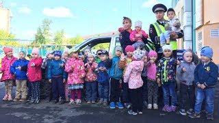 Урок дорожной безопасности в детском садике №5