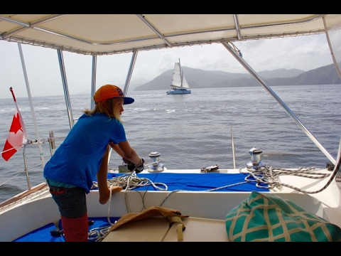 "SE2 EP42 ""Welcome to Trinidad!"" Passage to Trinidad - Sailing the Caribbean"