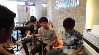 Cruise Tan Music Sharing at Yamaha Batu Pahat, Johor, Malaysia Recording Singing Performance 07