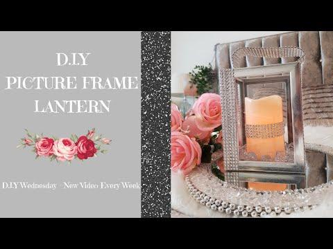 D.I.Y Photo Frame Lantern - D.I.Y Wednesdays