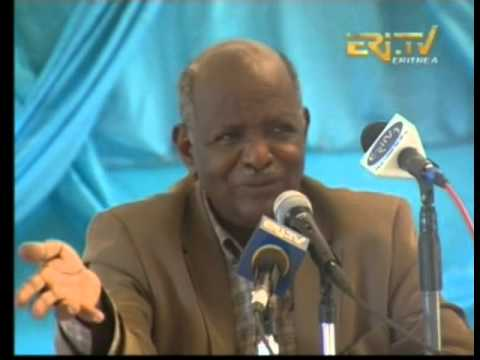 Eritrean minister of land and water give seminary part 2, January 2014