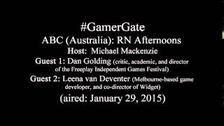 ABC Radio: Why Female Game Developers Remain in Fear #GamerGate