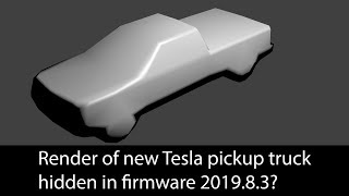 Has Tesla teased another render of the Pickup Truck