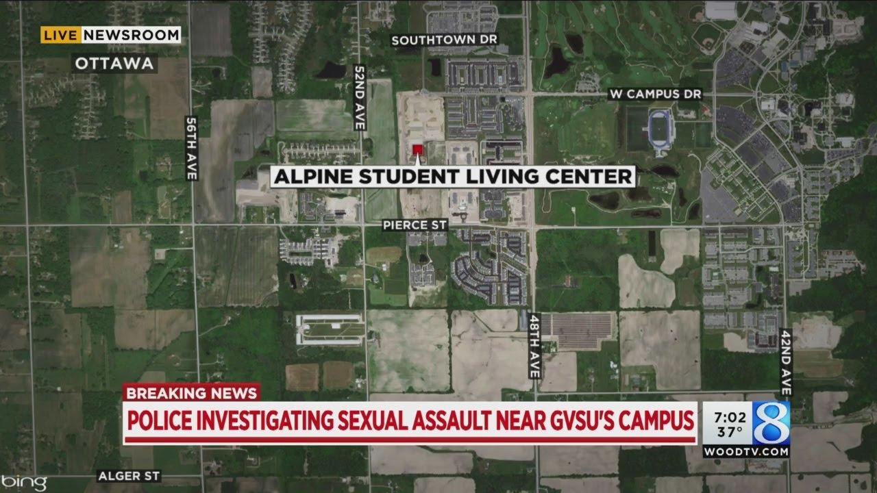 Sexual Assault Reported Near Gvsu Campus Youtube