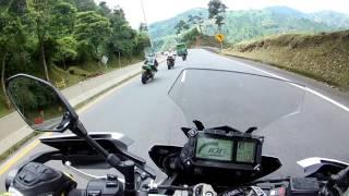 Caída MT-09 Tracer | Crash | Subiendo a Manizales