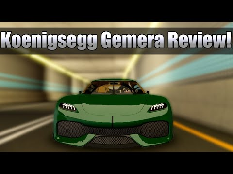 The Ultimate 4 seater! Koenigsegg Gemera review Driving Empire Roblox