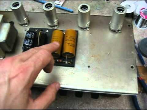 dating fender amp tube repair