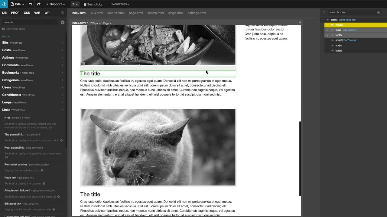 16 - Apply Master Page (and Page Tabs) - YouTube