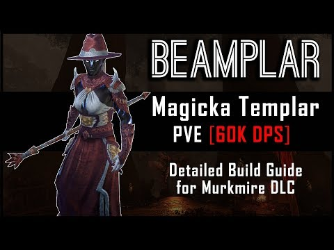 Magicka Templar Build [60k DPS] - Murkmire DLC