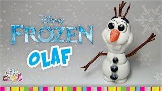 "FROZEN ""OLAF"" Polymer Clay / OLAF Arcilla Polimérica FROZEN Thumbnail"