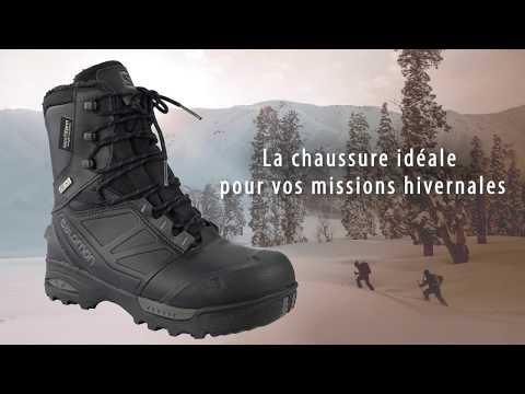 24e4e53ae25 Toundra Cswp Et Bottes Salomon Forces Chaussures Noir kwOX80Pn