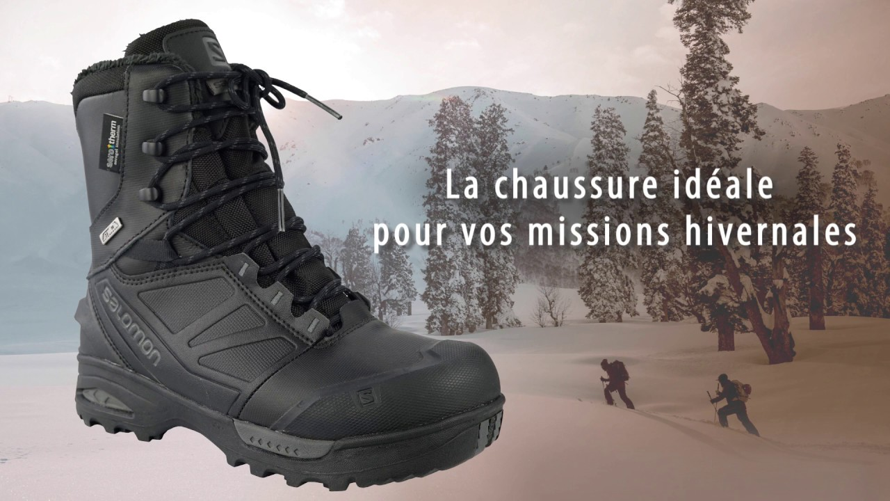 d401a0ee0b2 Chaussure Salomon Toundra Forces CSWP