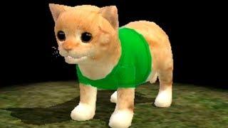 СИМУЛЯТОР Маленького КОТЕНКА #1 Котёнок влюбился \ Мульт игра для детей