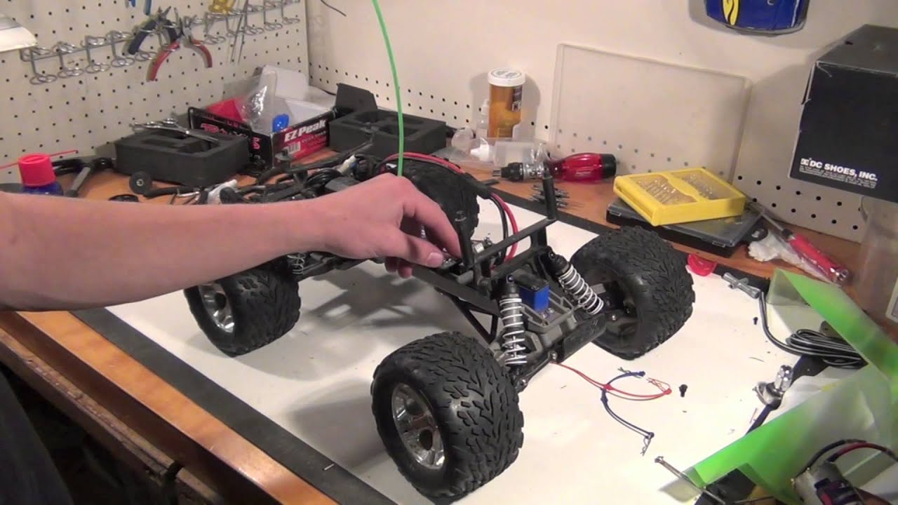 Traxxas Stampede upgrades and other things