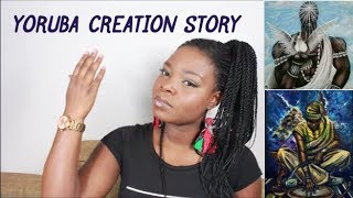 Yoruba Creation Story  The Creation of Yoruba Land  Tales by Moonlight  Diamantebox