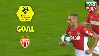 Goal Islam SLIMANI (56') / AS Monaco - Stade Rennais FC (3-2) (ASM-SRFC) / 2019-20
