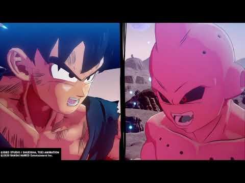 dragon ball z kakarot ending.... was amazing!!  