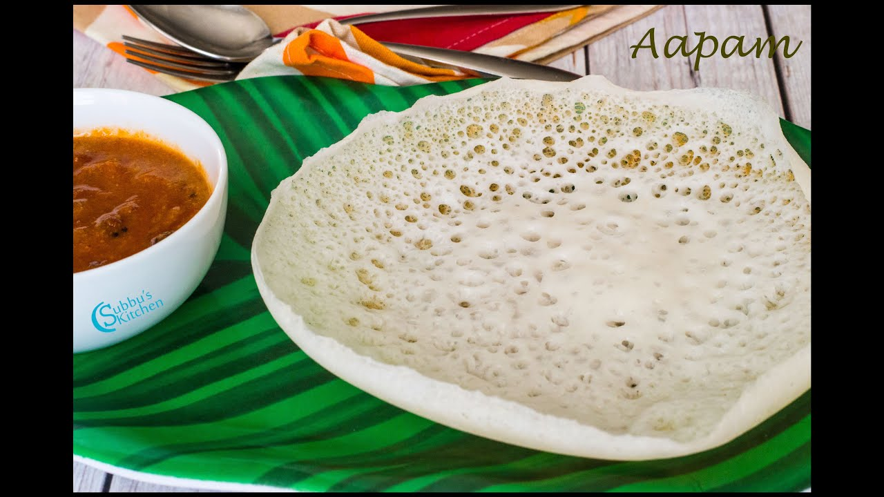 Aapam Recipe | Appam Recipe without Yeast - YouTube