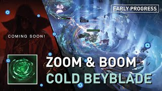 The Zoom & Boom Scourge Farmer build we all need !【Cold Beyblade Occ】Early Progress - Coming Soon !