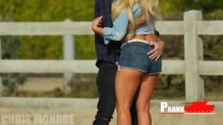 Kissing Prank Kızın Arkasını Eliyor Prank Turkey 2016