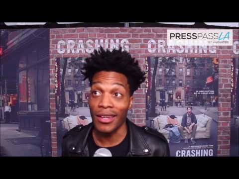 Interview with Jermaine Fowler Crashing Red Carpet Premiere