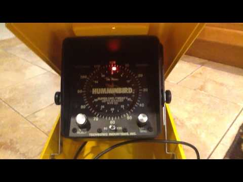 old humminbird depth sounder - youtube, Fish Finder