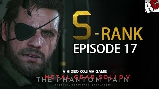 Metal Gear Solid 5: The Phantom Pain - Episode 17 S-RANK Walkthrough (Rescue The Intel Agents)