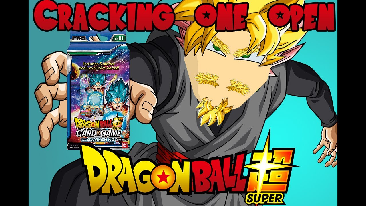Dragon Ball Super Card Game-Starter Deck The Awakening