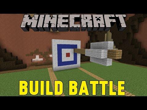 Minecraft | ÅRETS FINAST PILBÅGE | Team Build Battle Minigame på Svenska