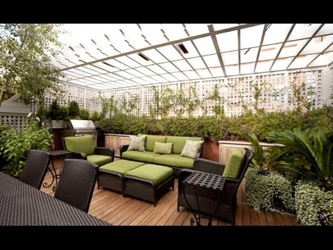 Beautiful Roof Garden Landscape Designs Youtube
