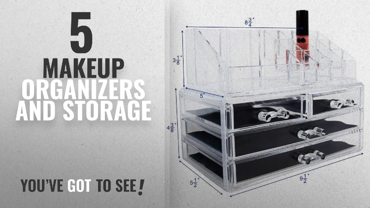 Top 10 Makeup Organizers And Storage 2018 Ikee Design Acrylic