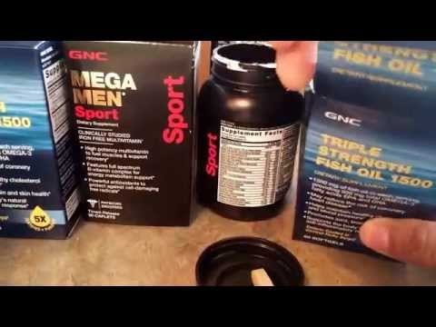 GNC Mega Men Multi Vitamin & Fish Oil