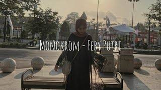 Gambar cover Monokrom - Tulus || Cover Feby Putri [ lirik ]