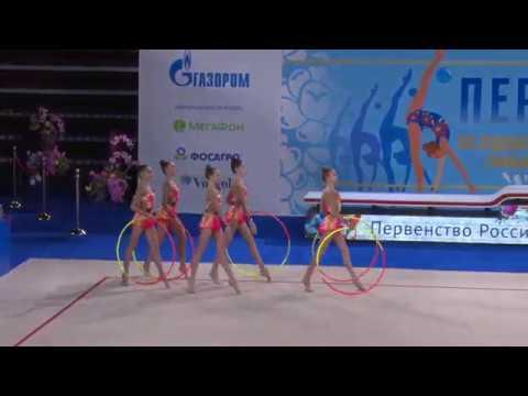 Команда Москвы Первенство России 2020, 5 обручей