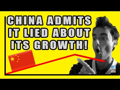 China CAUGHT Lying About FAKE GDP! Government Admits Numbers Are FAKE!