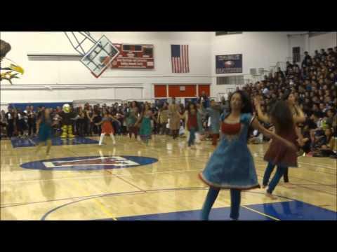 American High School Senior RALly