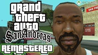 GTA San Andreas REMASTERED Speedrun on Xbox One